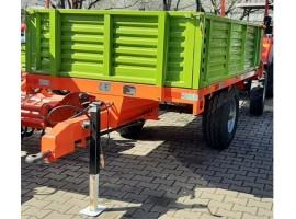 Remorca agricola monoax 3 tone, basculabila hidraulic spate